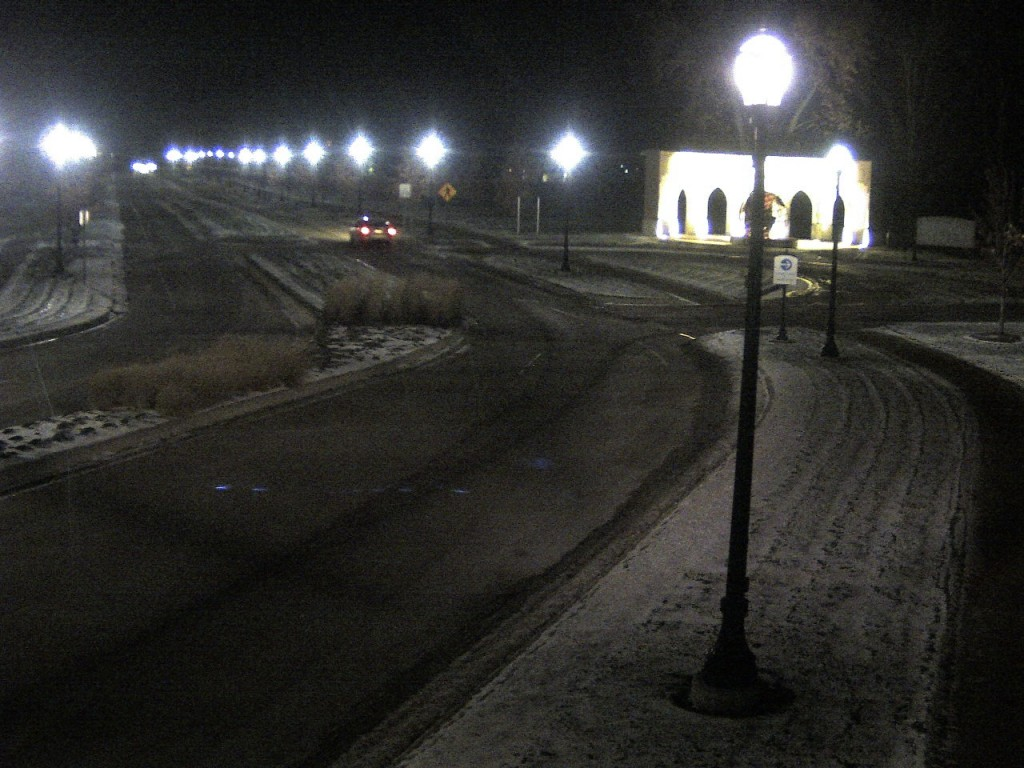 Judging by this AU webcam shot, there's a rough winter ahead...
