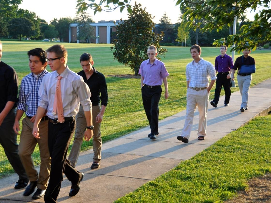 The young men of SVA will soon be doing a lot more walking...