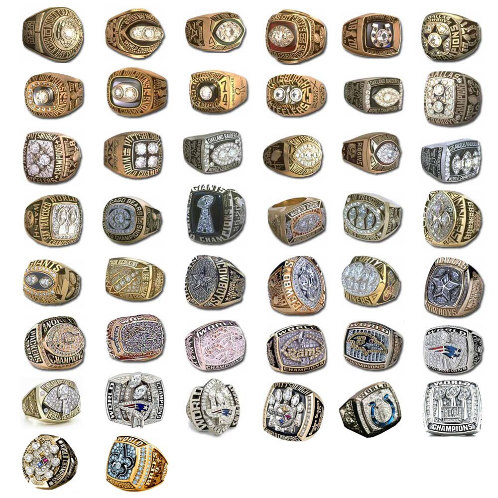 These Super Bowl rings are all history...