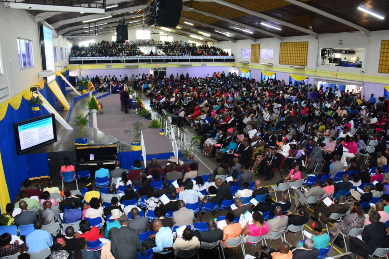 Approximately 2000 couples attended the event in the NCU gym.