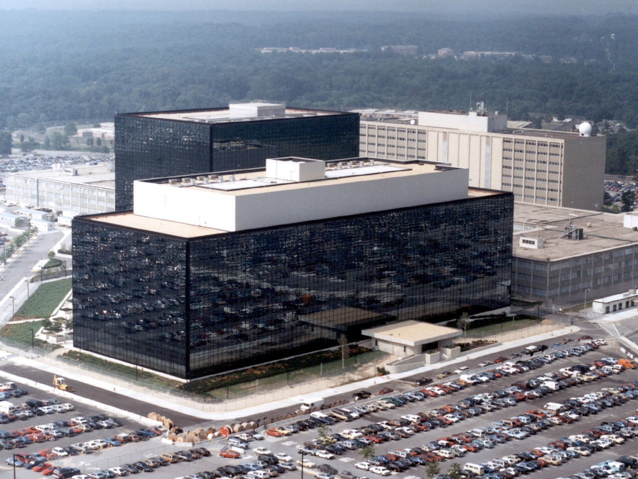 NSA headquarters...