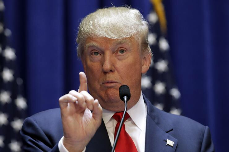 Donald Trump's presidential bid has been mired in controversy from the very start...