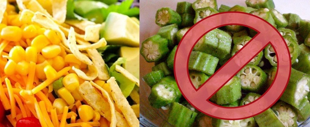 The GC is taking a stand against okra...