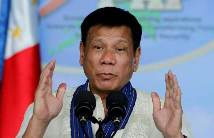 Duterte advocates a South China Sea policy of friendship evangelism.