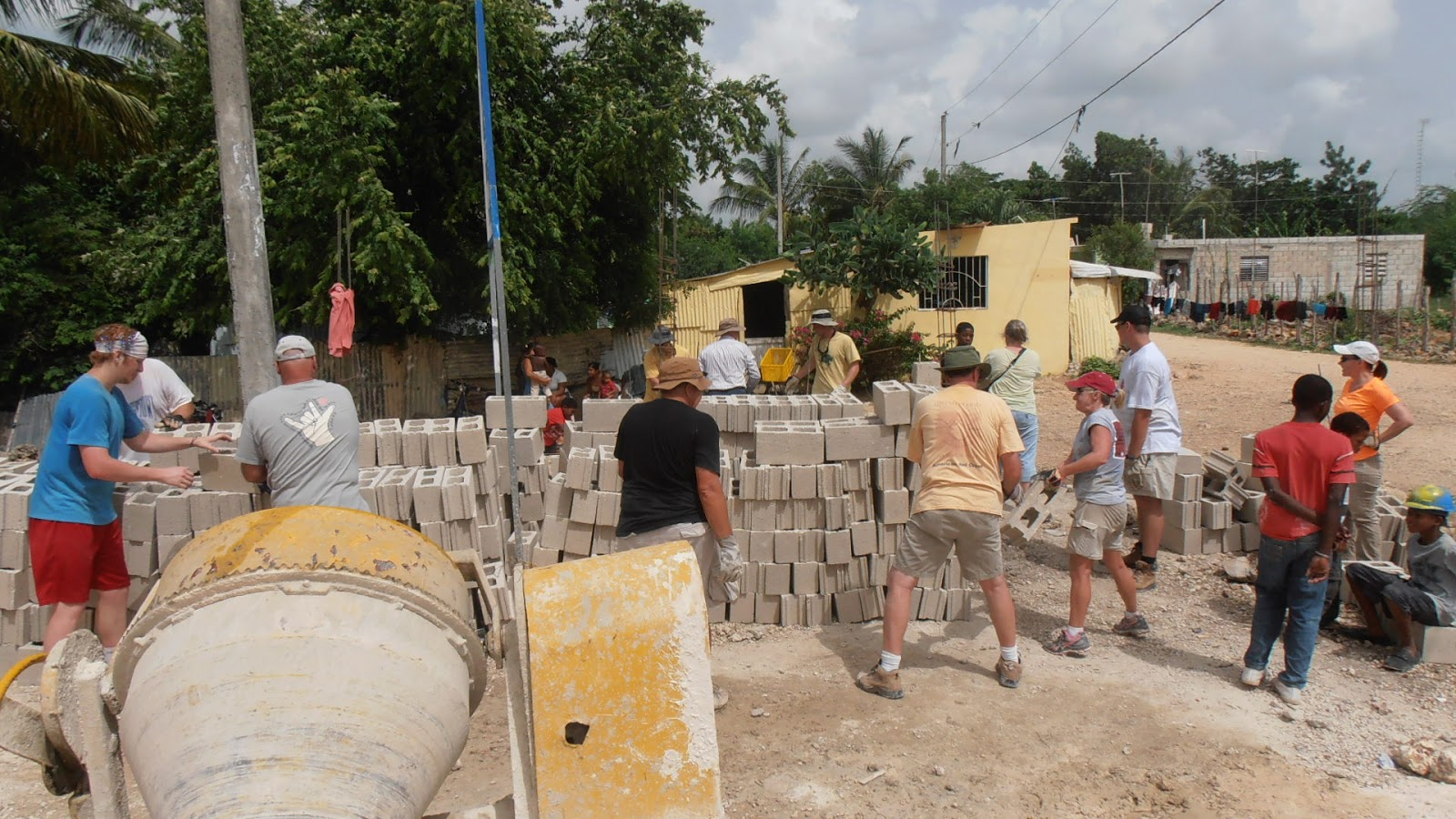 Locals beg church construction missionaries to stay home