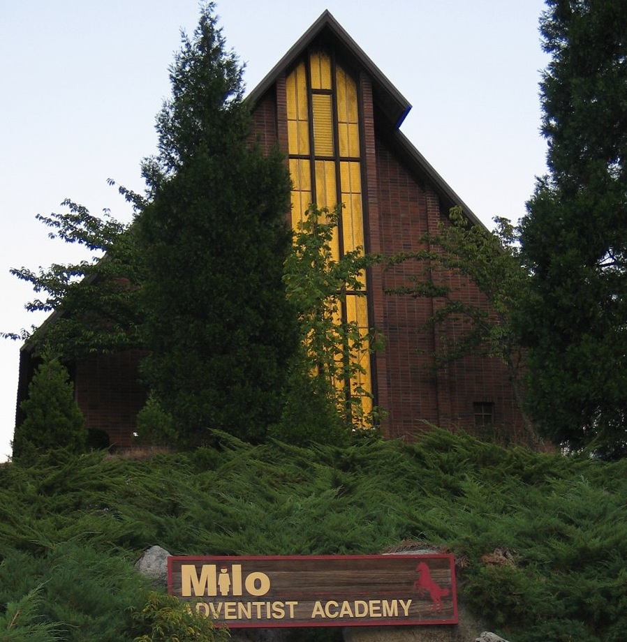 Milo Academy Church in flames after live-candle 'This Little Light of Mine' gets too enthusiastic