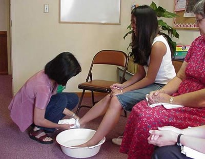 Loma Linda University Church asks members to pre-wash feet on Communion Sabbaths