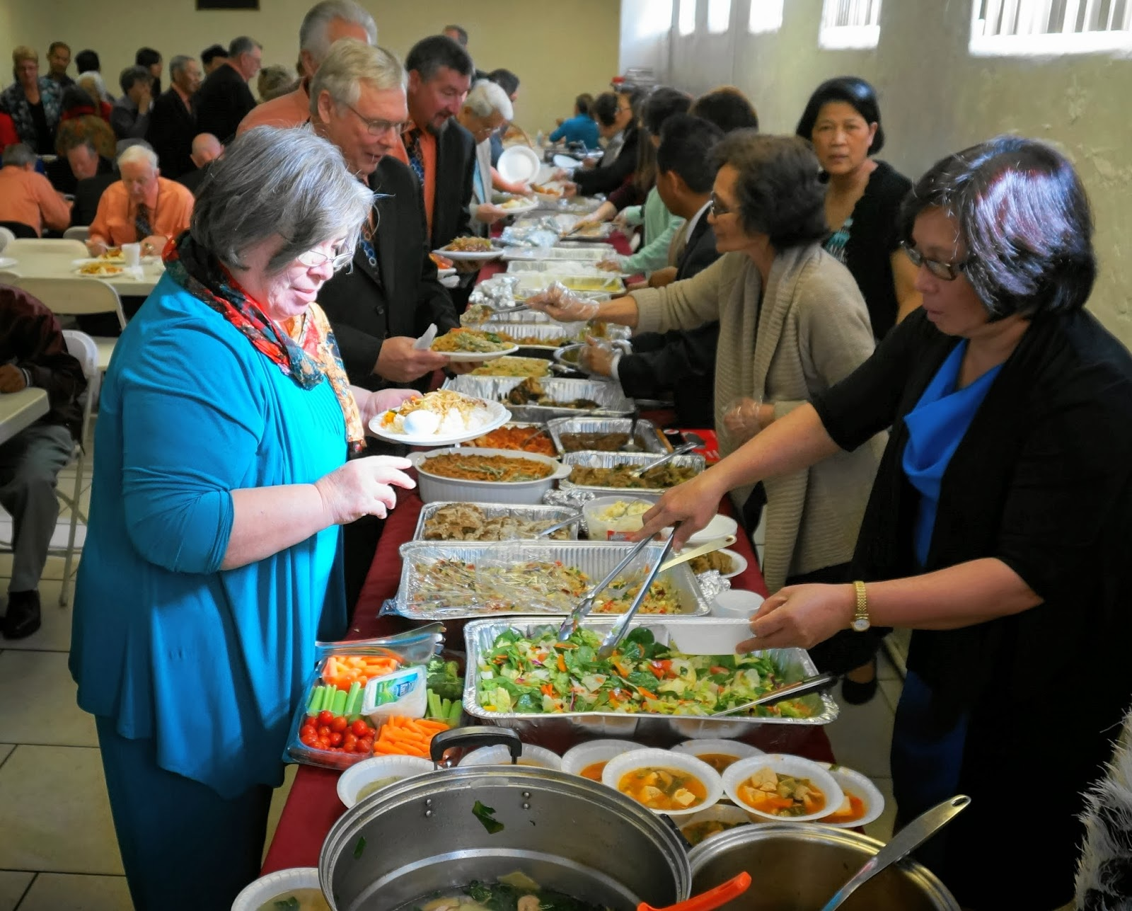 90% of Adventists say they may have overdone it at last Sabbath's potluck