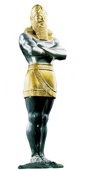 Miniskirt on Nebuchadnezzar statue prompts mass exodus from prophecy seminar