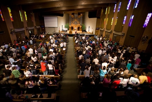 Collegedale Church instructs members to bring exact change for offering next Sabbath