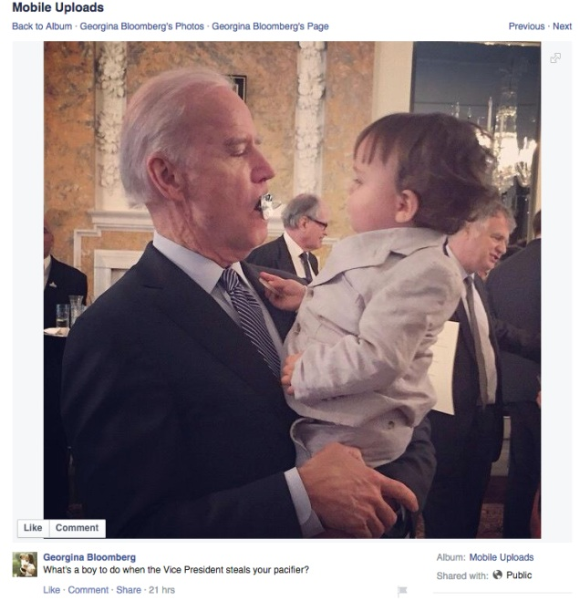 Loma Linda School of Dentistry:  'Impeach Biden for pacifier stunt'