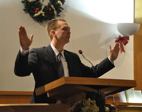 "Adventist pastor fired for ""may the force be with you"" benediction"