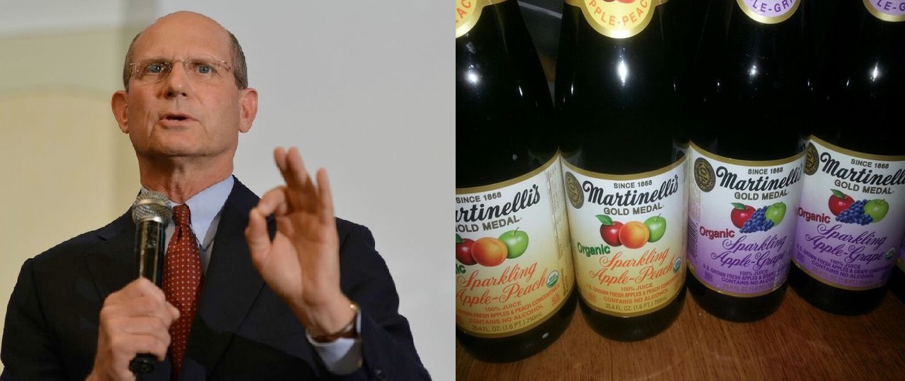 "Ted Wilson toasting 2016: ""Jesus turned water into Martinelli's"""