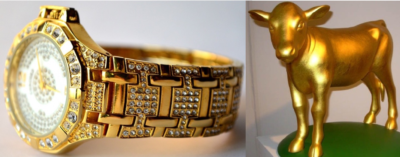 "Sabbath watches at average Adventist church contain ""enough gold for calf statue"""