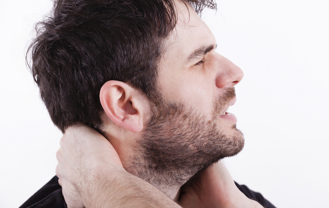 Adventist suffers neck pain from unequal yoking to smarter wife