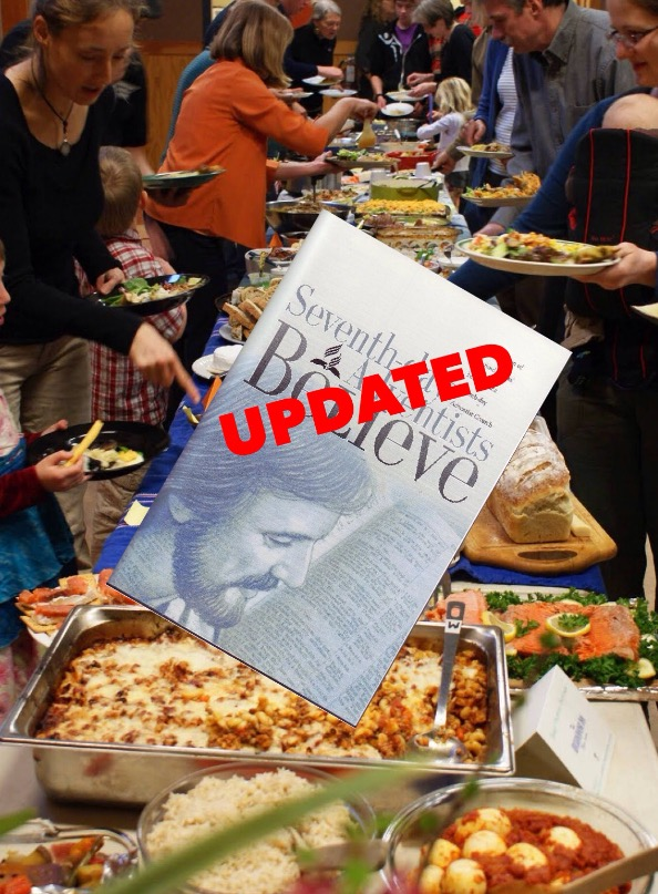 GC: Going to potluck without dish is a sin