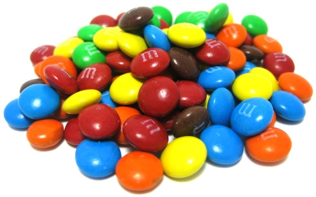 Carob M&M's hit stores