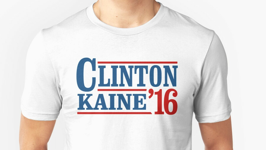 Dorcas centers filled to brim with Clinton/Kaine swag