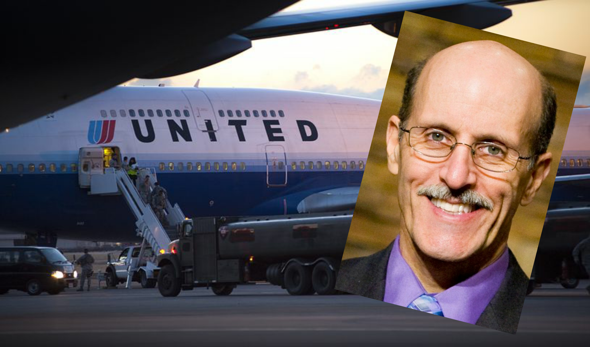 "United removes Doug Batchelor from plane for carrying ""Sword of the Spirit"""