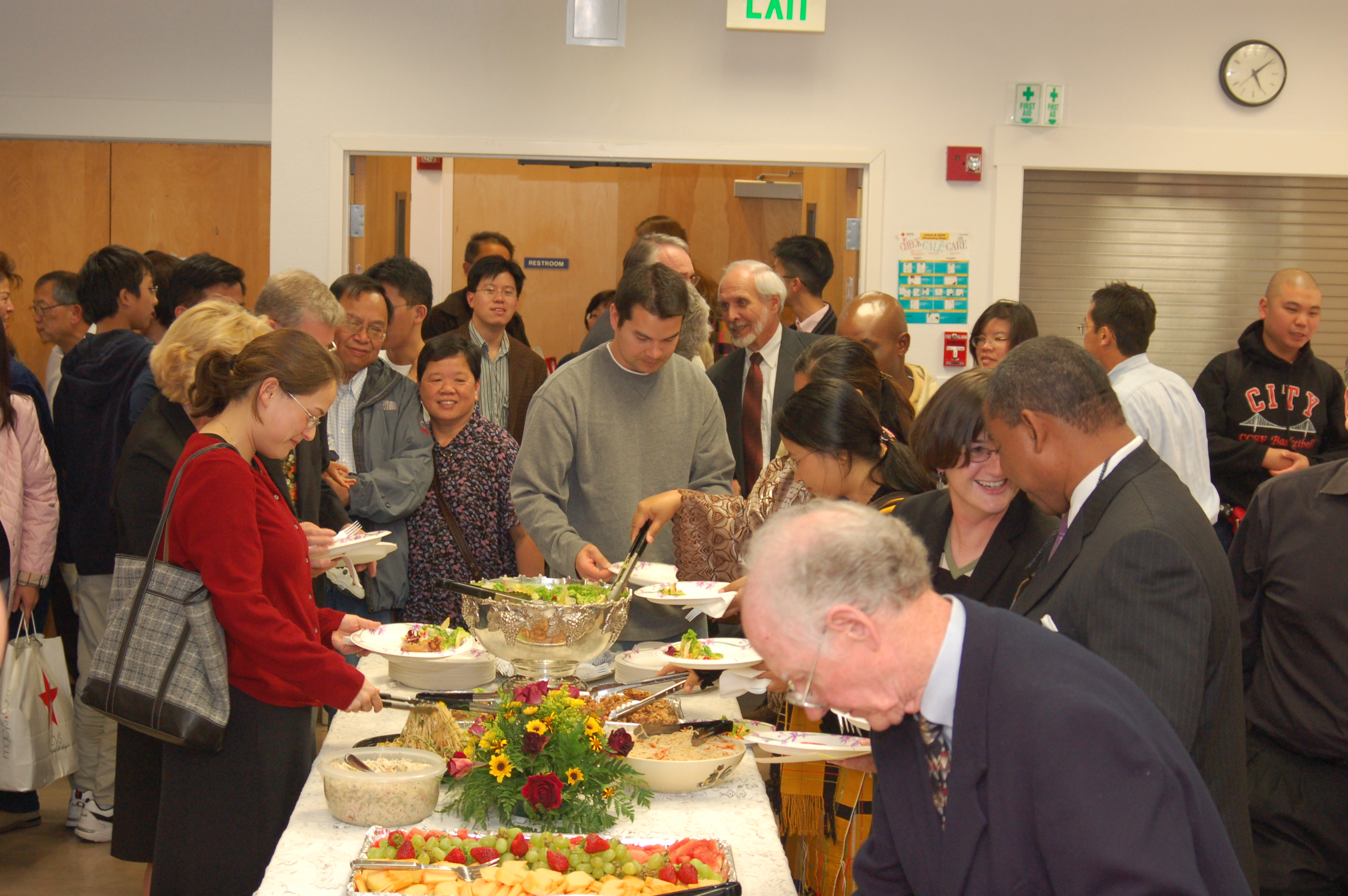 Adventist Church builds database of people not contributing to potluck