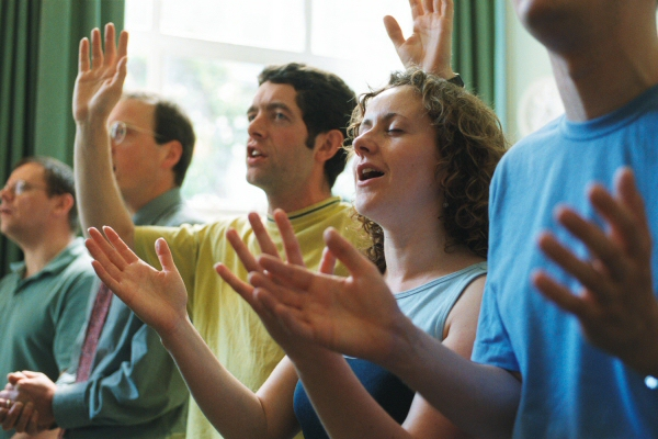Raising hands in worship identified as Adventist unpardonable sin