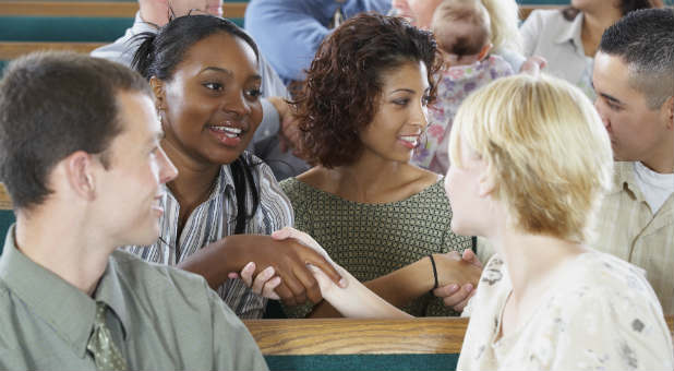 Hot new church visitors are answers to everyone's prayers