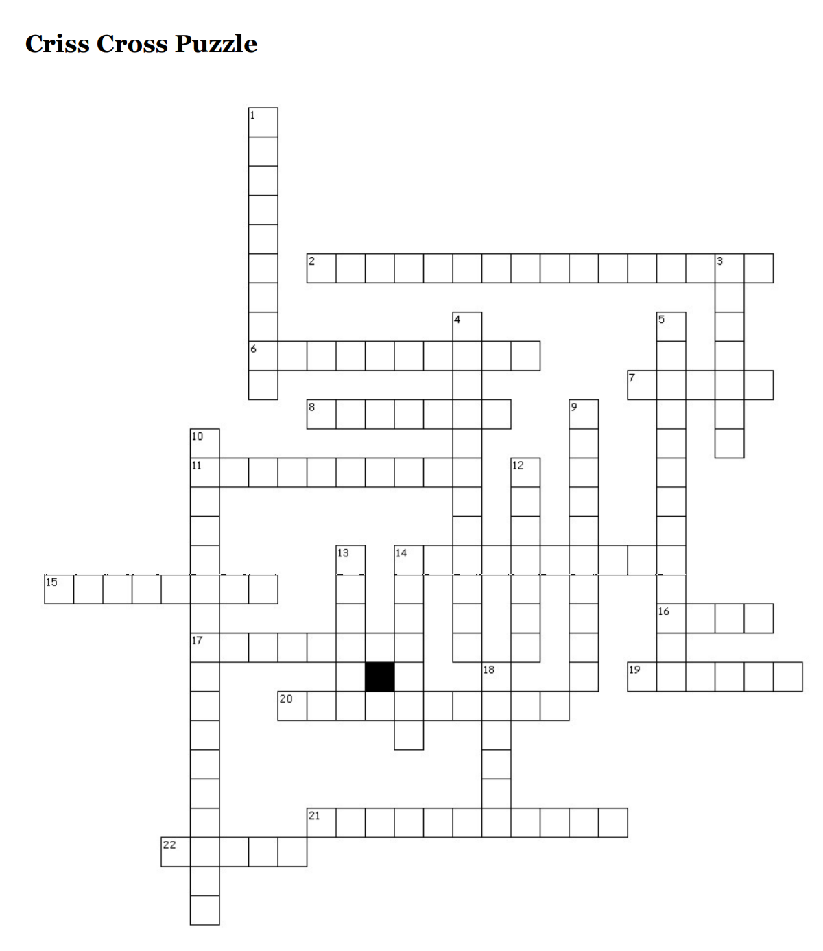 GC Crossword Puzzle: 2018 Annual Council Edition!