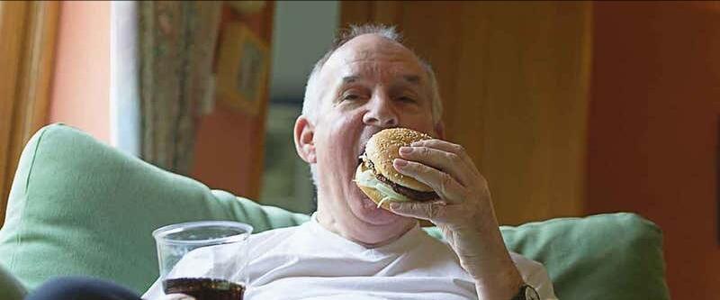 Loma Linda Blue Zoner Busted Eating Cheeseburger