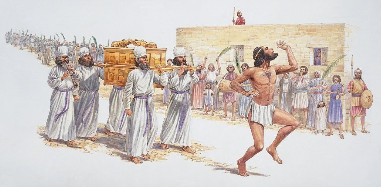 King David Referred To Compliance Committee For Dancing Half-Naked