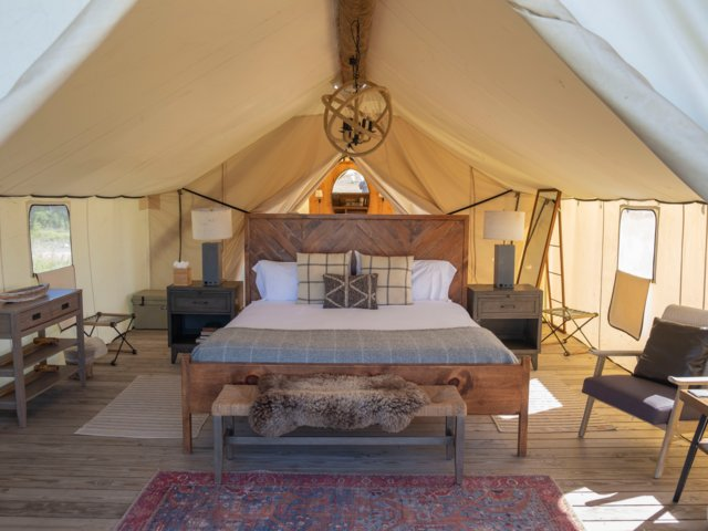 Pathfinder Glamping To Replace Roughing It