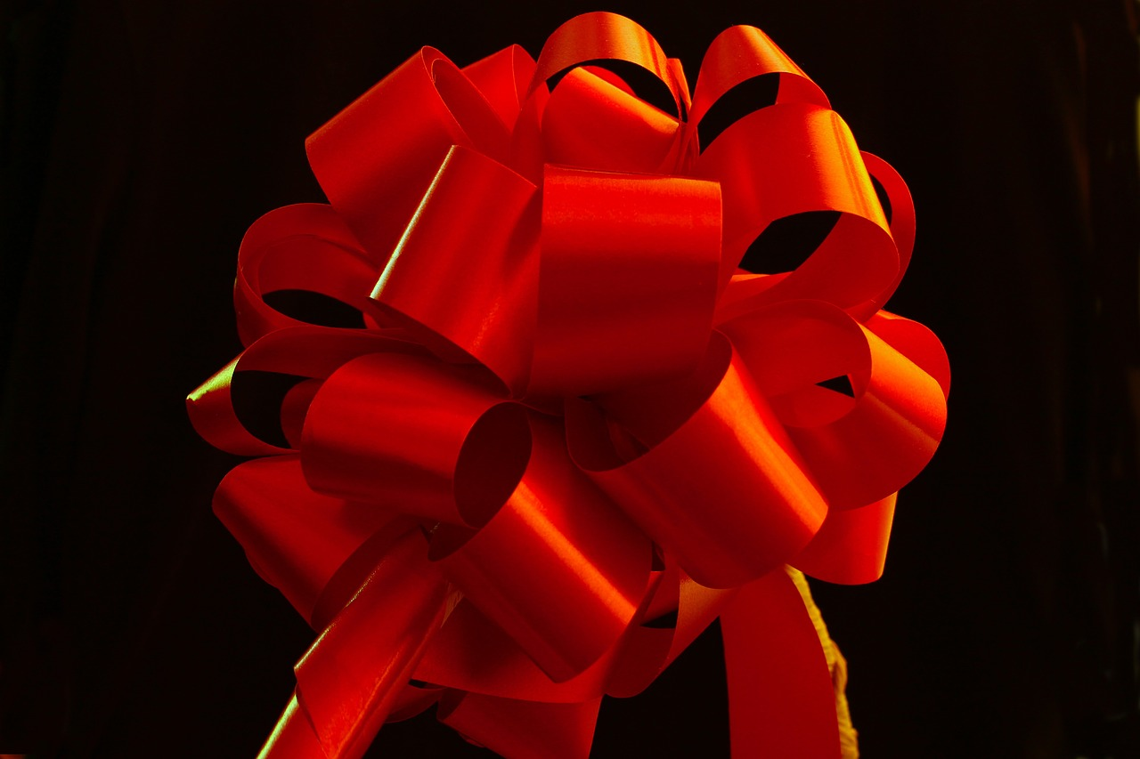 GC Christmas Decorations Consist Entirely Of Red Tape