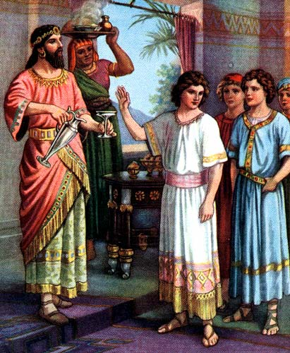 Revealed: Daniel And Three Friends Rejected Nebuchadnezzar's Food To Feast On Haystacks