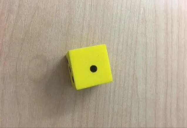 Off-Center Die Dot Infuriates Legalist