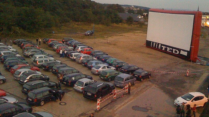 Adventist Drive-In Theater Churches Feature Priority Angel Parking