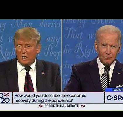 "Trump, Biden Commit To Singing ""Kumbaya"" Together At Start Of Next Debate"