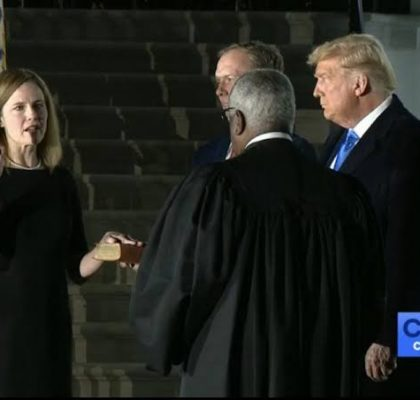 Amy Coney Barrett Confirmed As Fodder For Future Prophecy Seminars