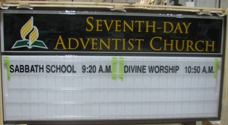 Slide Show: You know you're at an Adventist church when…